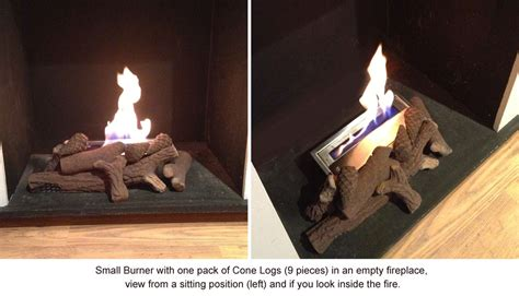 Outdoor Fireplace Accessories - budget conversion for empty fires