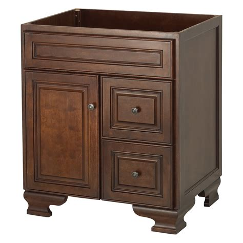 foremost hawthorne 30 in walnut single bathroom