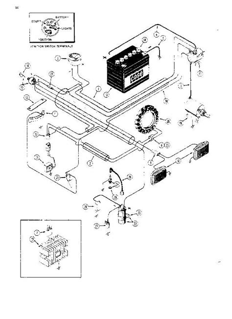 1490 CASE TRACTOR WIRING DIAGRAMS - Auto Electrical Wiring