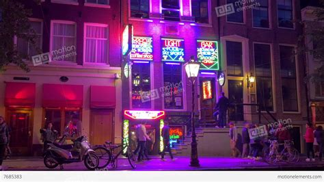light district amsterdam cost light district amsterdam stock footage