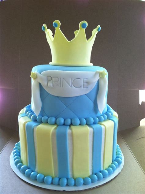Prince Baby Shower Cakes by Prince Baby Shower Cake Sweet Cakes By Toni
