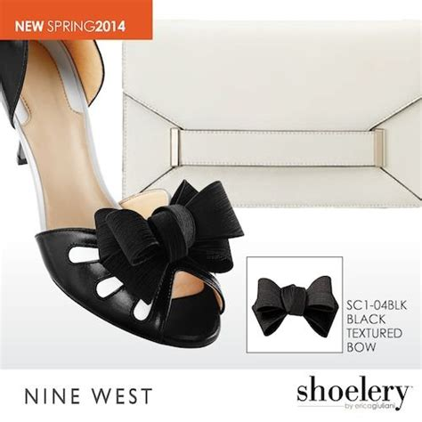 On Our Radar The At Nine West by Our Textured Black Bow Shoelery Shoe On Nine West