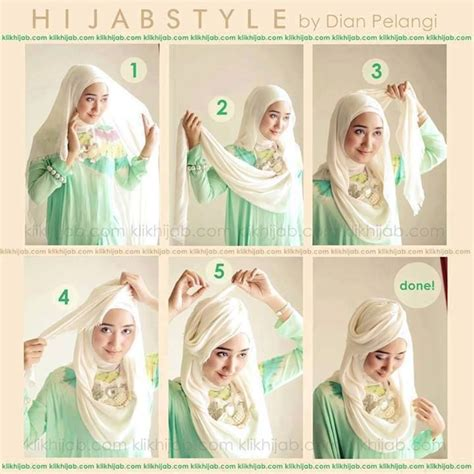 download tutorial hijab ala dian pelangi hijabstyle 1 hijab tutorial pinterest