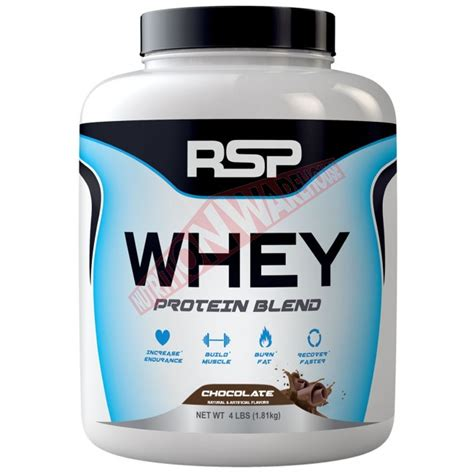 Whey Protein Blend whey protein blend by rsp nutrition big brands