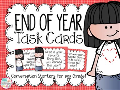 end of year greetings end of year task cards by not so wimpy teachers pay teachers