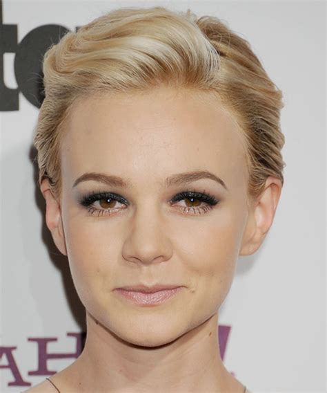 short off face hairstyles carey mulligan hairstyles in 2018