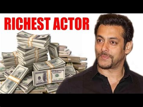 salman khan becomes bollywood's richest actor after