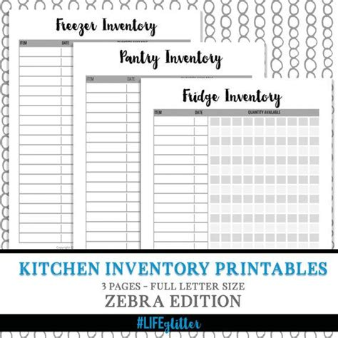 Kitchen Pantry Inventory List by 1000 Ideas About Pantry Inventory On Pantry