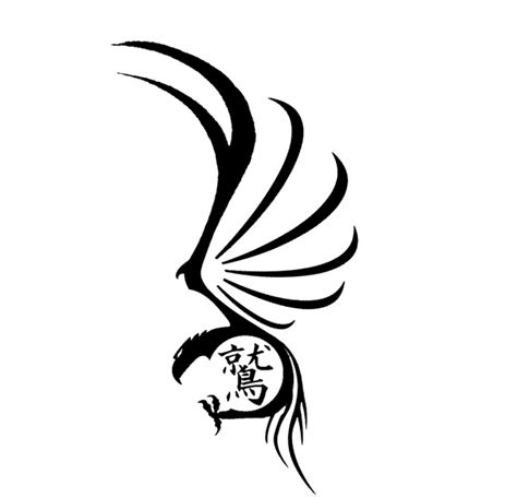 feminine eagle tattoo designs tribal eagle by anrev on deviantart