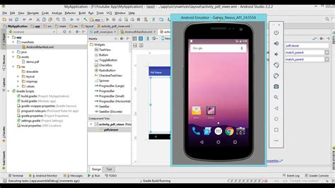 tutorial android studio pdf español how to create pdf viewer android studio youtube