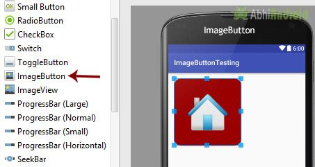 android layout xml custom attributes imagebutton tutorial with exle in android studio