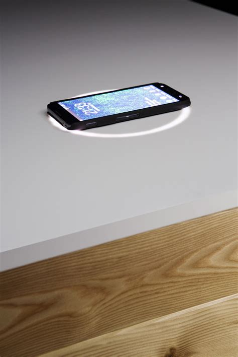 high tech katedra desk that charges your phone office desk with wireless phone charger katedra