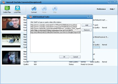 fb converter aneesoft youtube converter za free ponad 14 h win mac