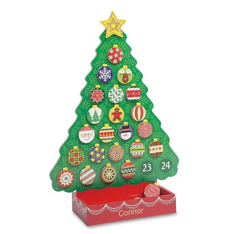 christmas tree countdown calendar lillian vernon