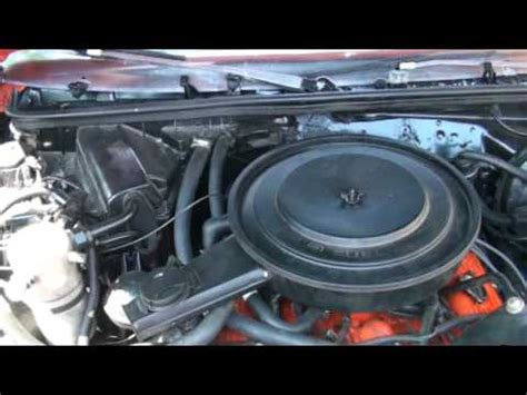 small engine maintenance and repair 1973 chevrolet monte carlo seat position control monte carlo 4 3 engine youtube