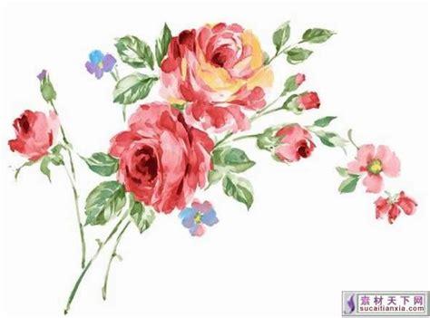 Painted Flower painted flowers painted flowers psd