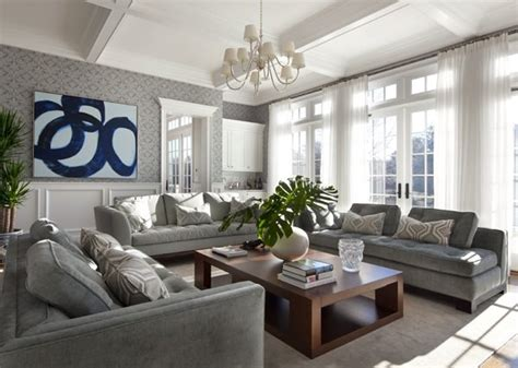 Gray Living Room by 21 Gray Living Room Design Ideas