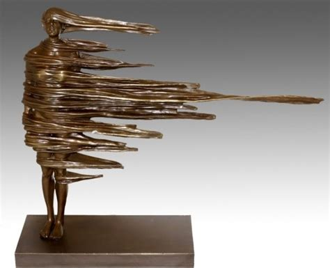 contemporary bronze sculpture modern sculpture weneedfun