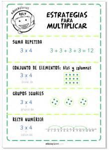 tabla de valores de resolucion 132806 apoyo escolar octubre 2016 estrategias para multiplicar p 243 ster educaplanet