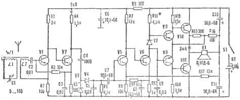 simple receivers  transistors model construction