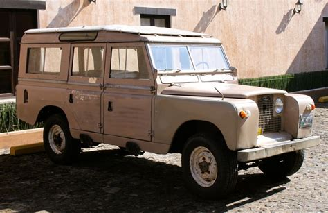 1960 land rover series ii a rovers land