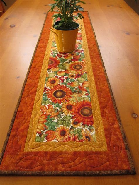 Patchwork Table Runner - patchwork mountain handmade quilts table runners table