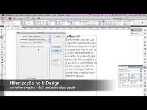tutorial indesign youtube indesign upgrade tutorial 1 tutorial sobre hifeniza 231 227 o