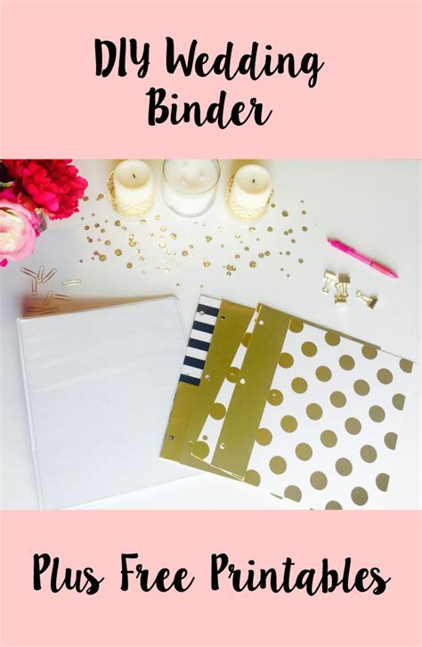 DIY Wedding Binder   Free Printables   CoCo   Nicole