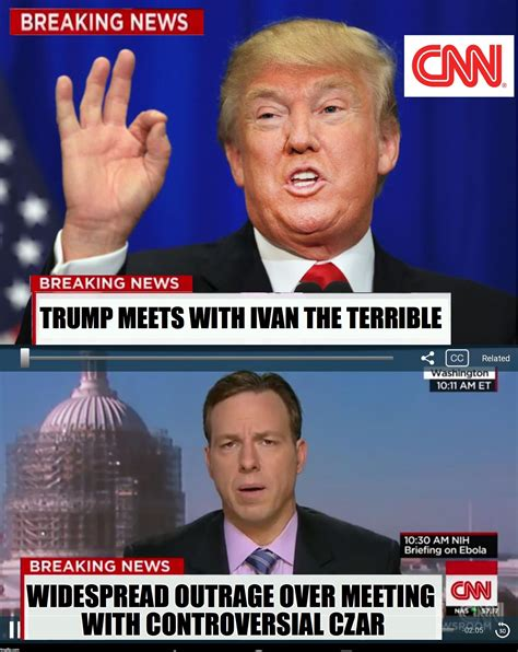 News Meme - use this new cnn phony breaking trump news template to