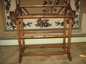 items similar to antique oak handcrafted quilt rack