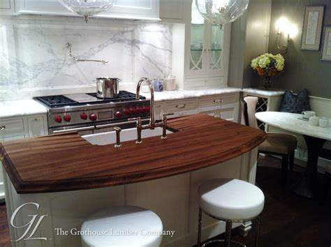 kitchen island wood countertop walnut wood countertop kitchen island in chicago