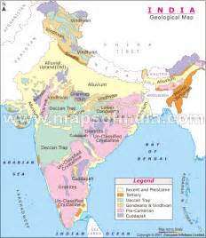geological map the geological structure of india civilsdaily