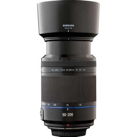 Samsung Zoom Lens Samsung Ex T50200sb 50 200mm F 4 0 5 6 Zoom Lens Ex T50200sb B H