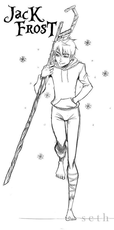 jack frost from rise of the guardians by sethkuroihuke on