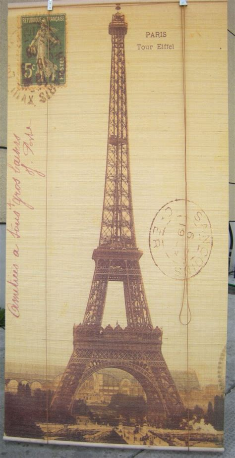 eiffel tower l shade eiffel tower shade 72 quot l