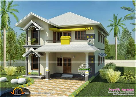 home lighting design india house south indian style in 2378 square feet kerala home