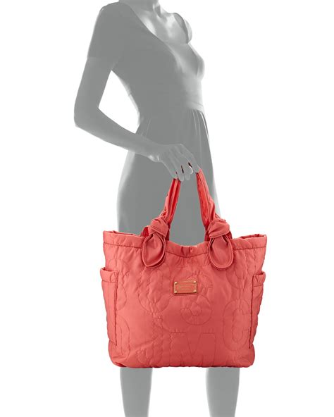 Marc By Marc Tate Embroidered Shopper by Marc By Marc Pretty Tate Medium Tote Bag In