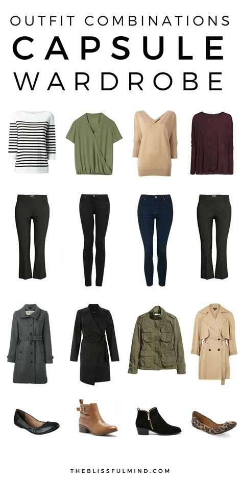 36 fall winter capsule wardrobe the blissful mind
