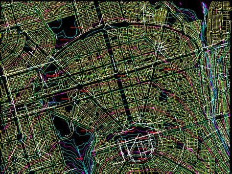 map goiania city dwg block  autocad designs cad