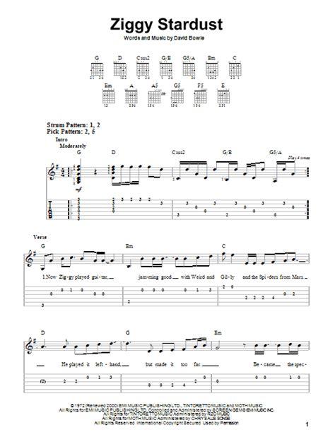 Ziggy Stardust Chords Album Downloads