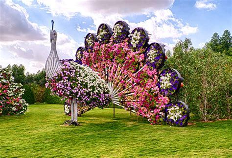 Dubai Flower Garden by Miracle Garden In Dubai World Flowers