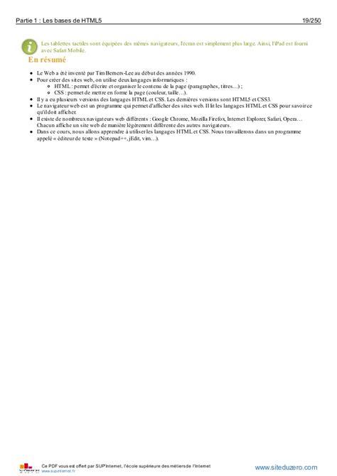 tutorial html site du zero quelques liens utiles