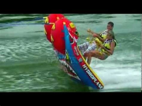 cool boat tubes grandstand 2 towable boat tube by sportsstuff youtube
