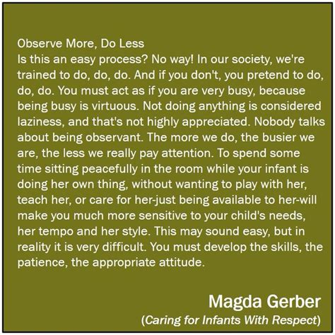 7 Things To Learn To Be Less Co Dependent by Observe More Do Less Magda Gerber 0 3