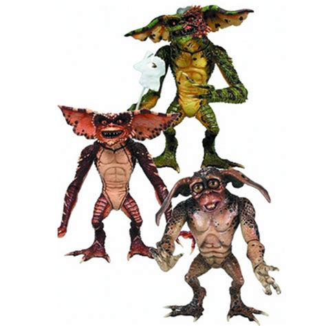 """gremlins 7"""" collectible action figures don't feed them"""