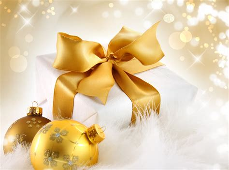 balloons balls christmas decorations gift box gold