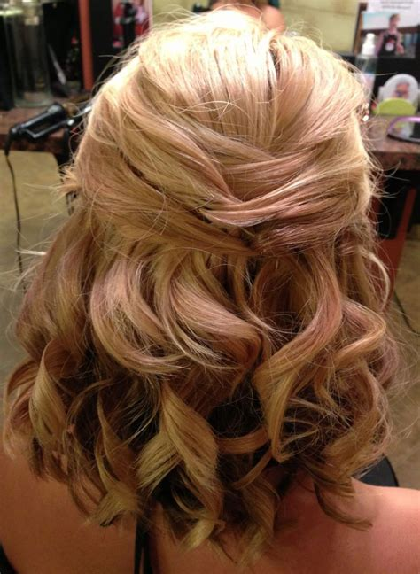hair styles with rhinestones half up half down hairstyles medium length hair prom www