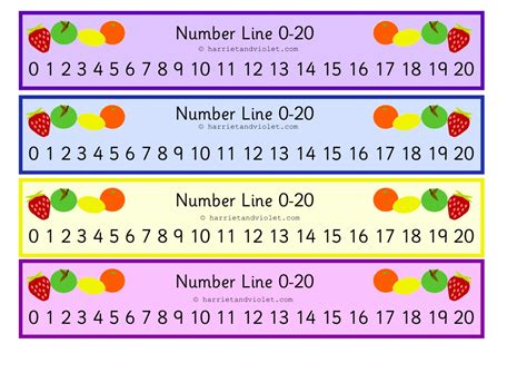 free printable number line up to 20 free teaching resources eyfs ks1 ks2 primary teachers