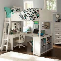 Bunk beds with desk for kids bedroom
