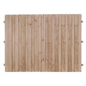 home depot fence boards 6 ft x 8 ft pressure treated pine 4 in board on board